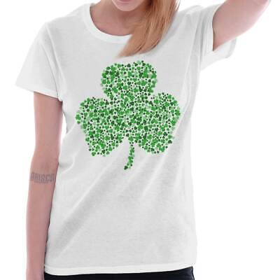 St Patricks Day Lucky Funny Shirt Cool Cute Gift Idea Patty Ladies Tee Shirt T