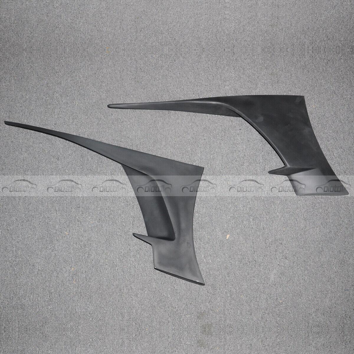 Details about 7PC Rear Wheel Trim FRP Molding Fender Flare Fits For  Chevrolet Corvette C7