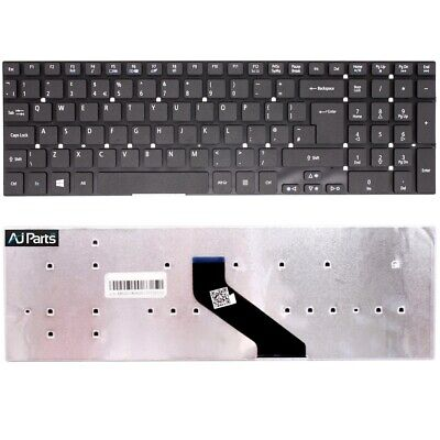 Replacement UK Layout Keyboard For Acer ASPIRE E15ES1-512-C60S Black No-Frame