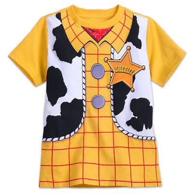 NWT Disney Store Toy Story Woody Costume Boy Short Sleeve T Shirt  many sizes - Woody Toy Story Shirt