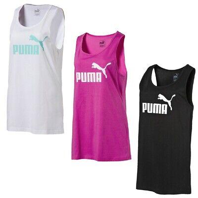 Puma Damen Tank Top (PUMA Damen Essential ESS No.1 W Tank Top Tee T-Shirt)