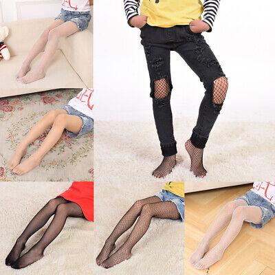 Hot Girl Tights (US Women Kids Girls Long Fishnet Pantyhose Tights Thigh High Stockings Socks)