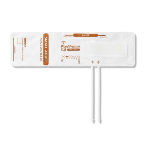 Medline MDS9922DM Disposable 2-Tube Blood Pressure Cuff Small Adult 5/BG