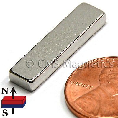 Cms Magnetics N45 Neodymium Bar Magnet 1x 14x 18 24-piece Pack