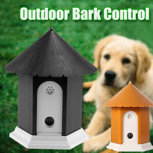 Outdoor Ultrasonic Deter Annoying Anti Bark Control Pet Dog No Barking House