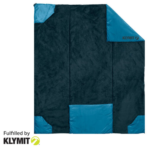 Klymit Versa Luxe Camping Travel Blanket and Converts to a Pillow - Brand New