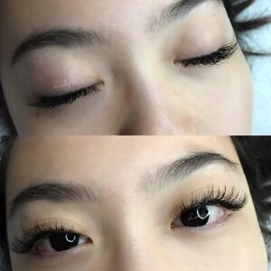 Eyelash extensions $49 classic full set special (was$70)