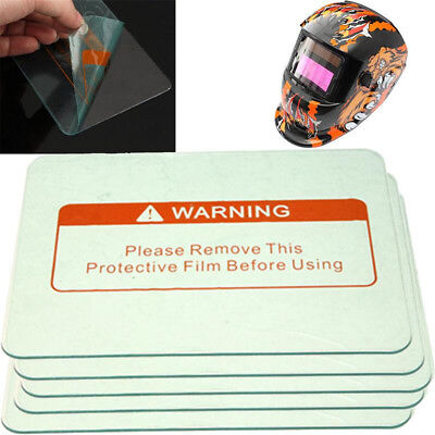 135pcs Clear Welding Cover Lens Protect Plate For Welding Helmet 11.5x9cm