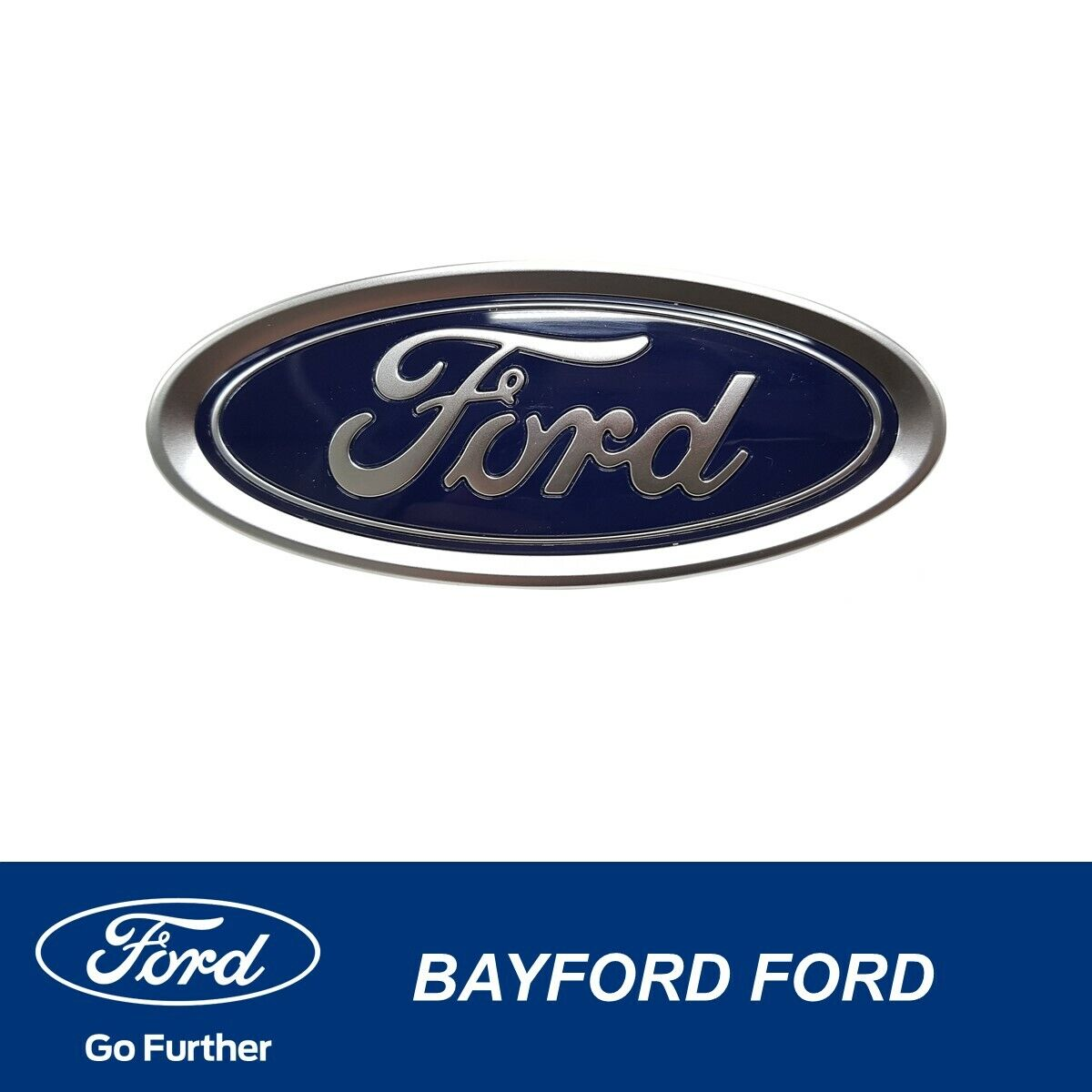 FORD Logo Oval Badge Front Boot for FORD Escort Fiesta Mondeo Focus