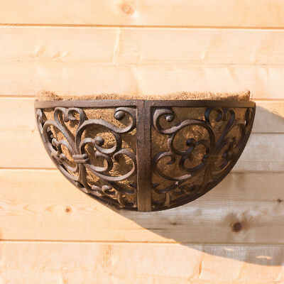 Hängekästen im viktorianischen Stil, Blumenkübel Kokos