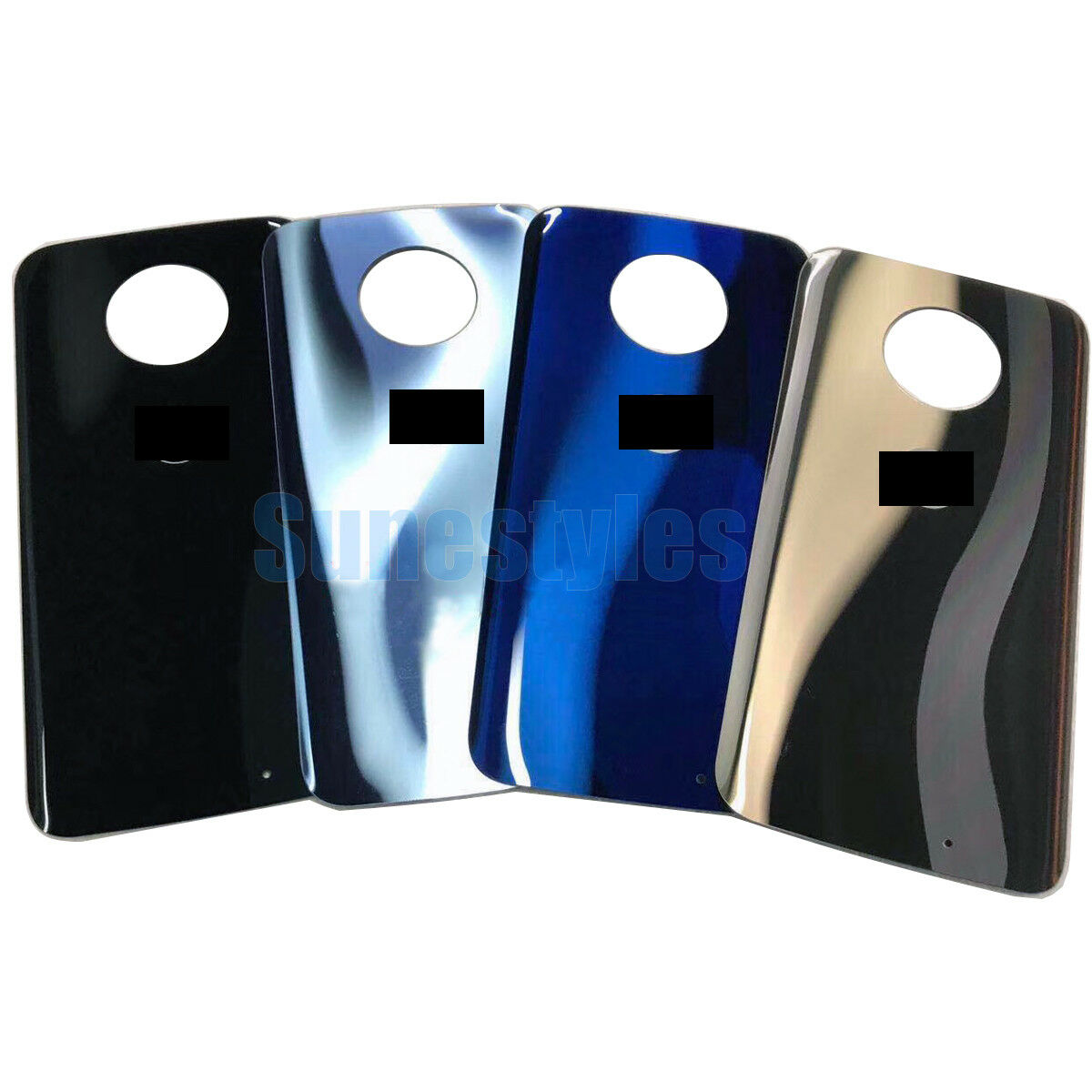 new product 5d079 12fd8 Details about New Rear Glass Battery Back Cover Repair For Motorola Moto X4  X 4th XT1900