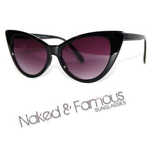 VTG-50s-60s-Style-womens-Cat-Eye-Sunglasses-Retro-Rockabilly-Glasses-uk-stock