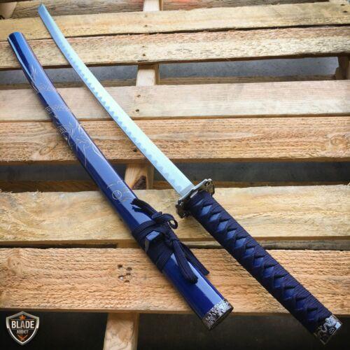 "37"" Blue DRAGON SAMURAI NINJA Bushido KATANA Japanese Sword Steel Blade KNIFE"