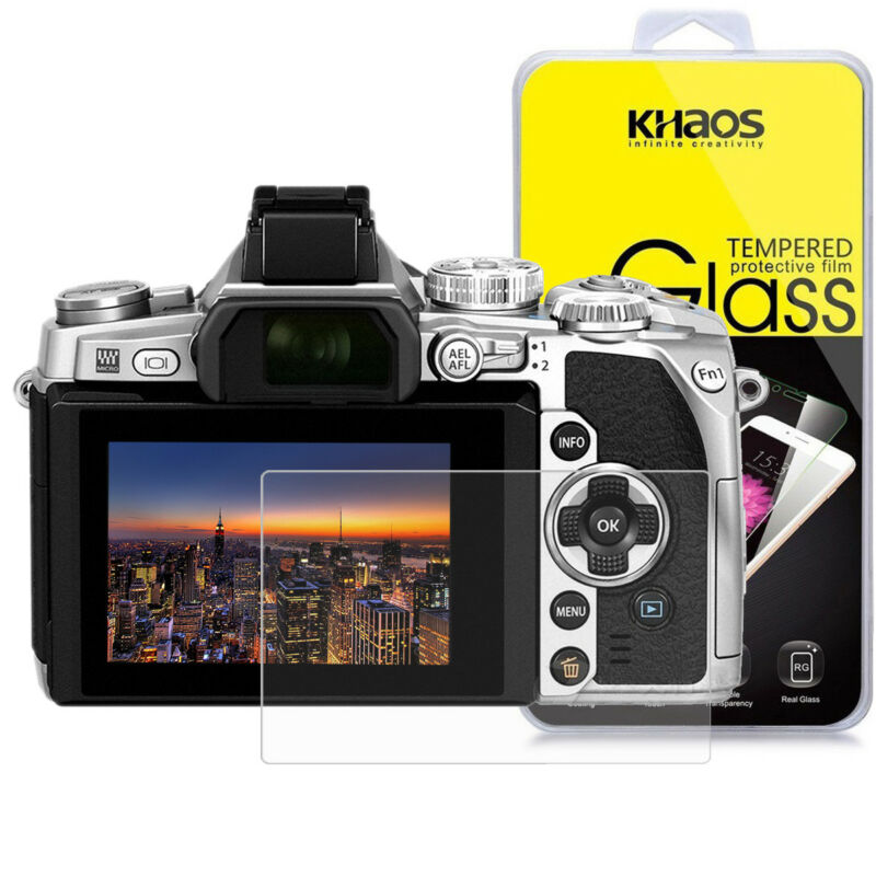 Khaos For Olympus OM-D E-M1 Mark II Tempered Glass Screen Protector