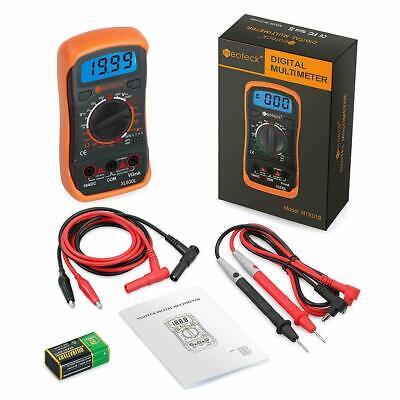 Pro Digital Multimeter Volt Meter Tester Electric Ohm Ac Dc Auto Range.