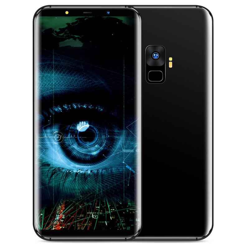 "Android Phone - 4+64GB Quad Core 6.1 ""Smart Phone Dual SIM Android 8.0 Fingerprint Unlock UK"