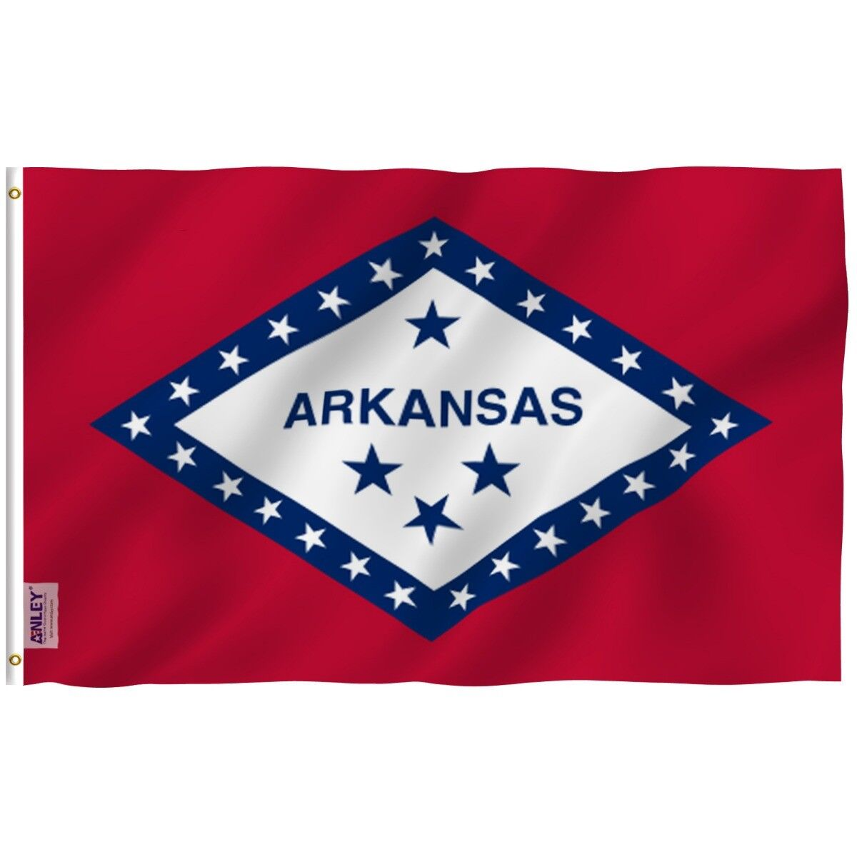 arkansas state flag ar banner states of