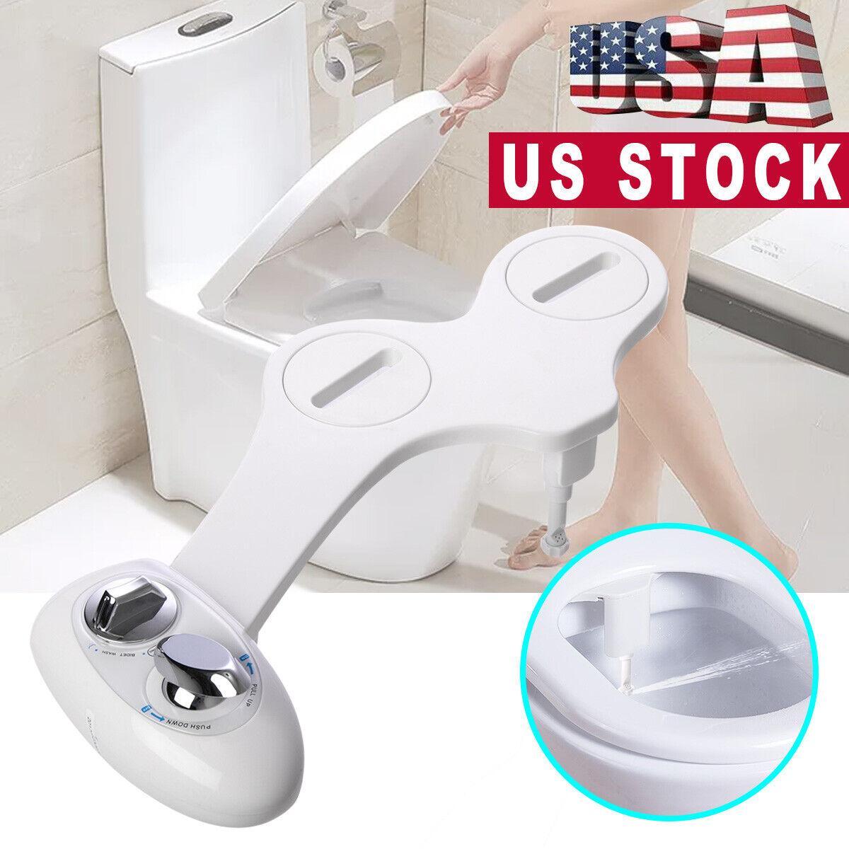Non Electric Toilet Bidet Wash Seat Spray Bathroom Sanitatio