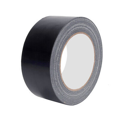 Heavy Duty Duct Tape 2 In X 30 Yards Insulation Ducting Strong Waterproof Black