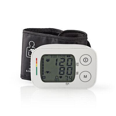 Tensiomètre Poignet LCD avec Heure & Date + Mémoire de Stockage 4 x 30 Relevés