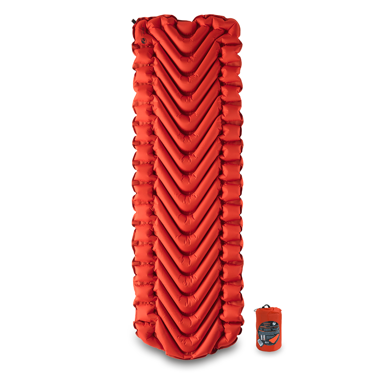 Klymit Insulated Static V Air Mattress - Orange