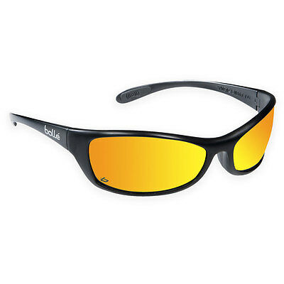 Bolle Spider Flash Safety Sunglasses w/ FREE Microfibre Bag SPIFLASH Mirror NEW