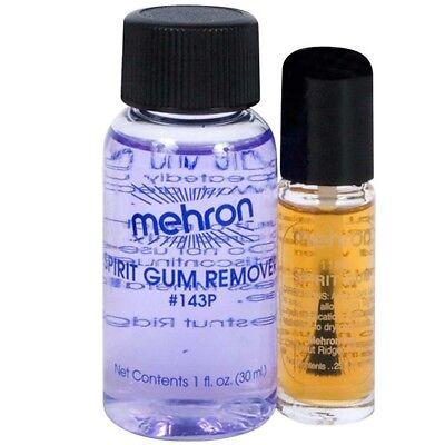 Spirit Gum with Spirit Gum Remover Mehron Special Effect Glue Adhesive Makeup](Spirit Halloween Makeup)