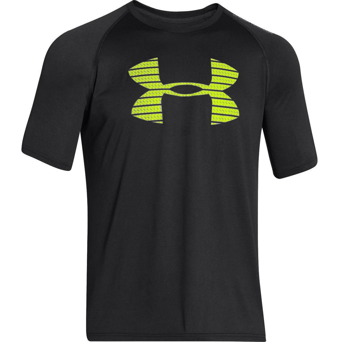 Under Armour Herren Challenger Iii Training Top atmungsaktives T-Shirt f/ür Herren Funktionsshirt mit Anti-Geruchs-Technologie