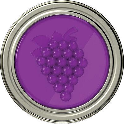 Grape Jam Jelly (GRAPE, STRAWBERRY OR PEACH JAM JELLY MASON BALL JAR LIDS - 4 PACK )