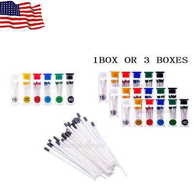 Easyinsmile 1or3box Absorbent Paper Points15-4045-80 Dental Endo Paper Points