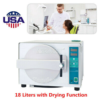 18l Dental Autoclave Steam Sterilizer With Drying Function Sterilization 1100w