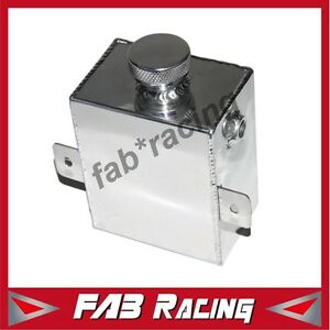 ALUMINIUM RADIATOR COOLANT OVERFLOW EXPANSION TANK FOR HOLDEN FORD SWIRL POT 1.2