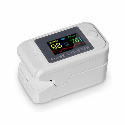 Oled Finger Pulse Oximeter Blood Oxygen Meter Spo2 Heart Rate Monitor Saturation