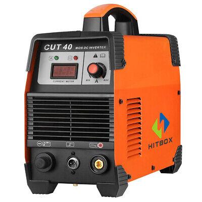 Digtal Cut40 Plasma Cutter 40a 220v Igbt Electric Air Plasma Cutting Machine New