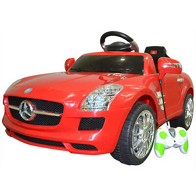 Baby Kids Remote Control Electric RC Mp3 Mercedes Benz Ride On Car Birthdays Toy