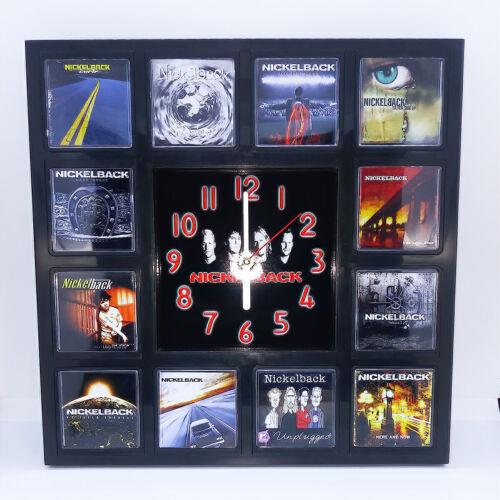 Nickelback Rock Band Wall Clock