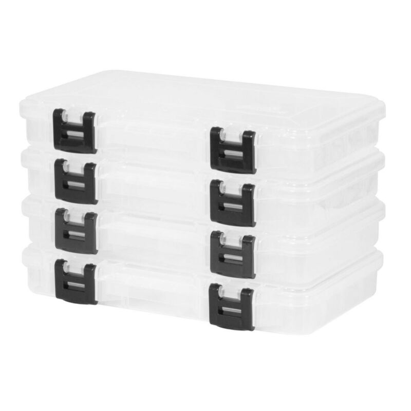 New Plano StowAway Bundle 4 Pack For 3700 Or 3600 Tacklebox
