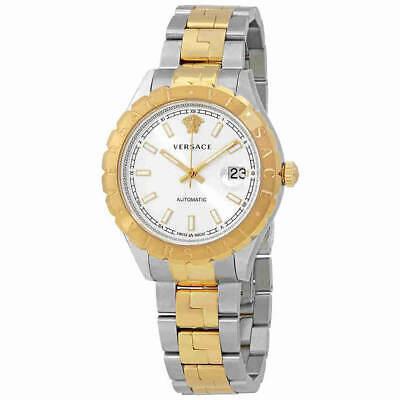 Versace Men's Watch Hellenyium Silver Tone Dial Two Tone Bracelet VZI040017