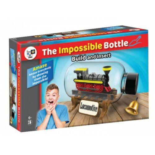 NEW, SEALED: THE IMPOSSIBLE BOTTLE LOCOMOTIVE KIDS