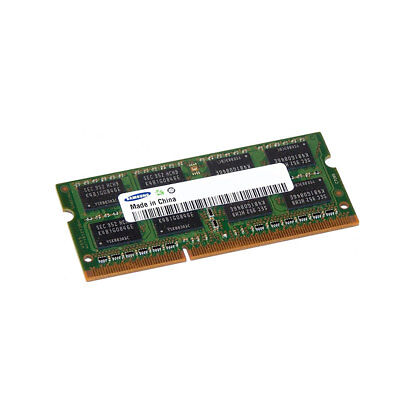 Samsung 8GB Ddr31600MHz Arbeitsspeicher (8Gb, 1X 8Gb, DDR3, 1600MHz, 204-Pin-so-DIMM)