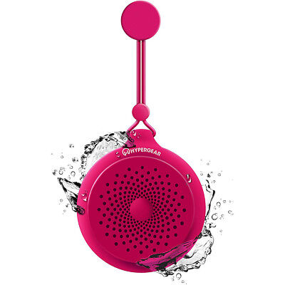 HyperGear Splash Water Resistant Wireless Bluetooth Speaker - Pink