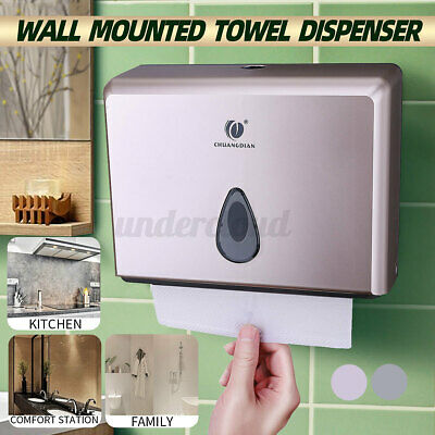 Hand Paper Towel Dispenser Home Toilet Holder Wall Mounted Bathroom Tissue Box