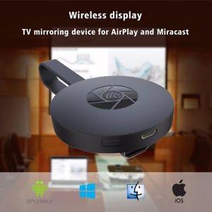 WiFi Display Dongle Media Streamer Audio HDMI Crome Chrome Cast YouTube Miracast