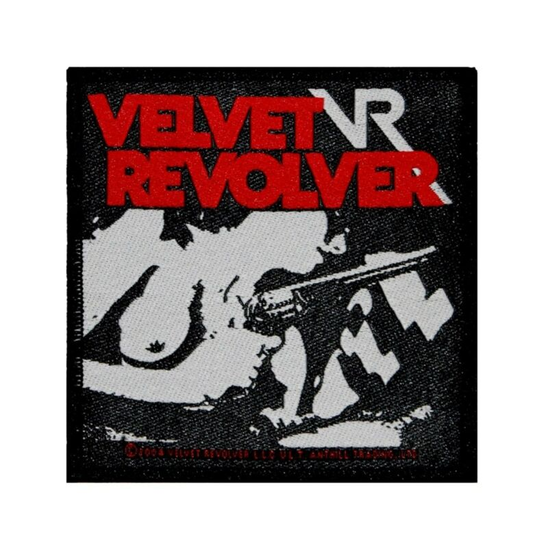 Velvet Revolver Babe Patch Band Artwork Hard Rock Band Woven Sew On Applique
