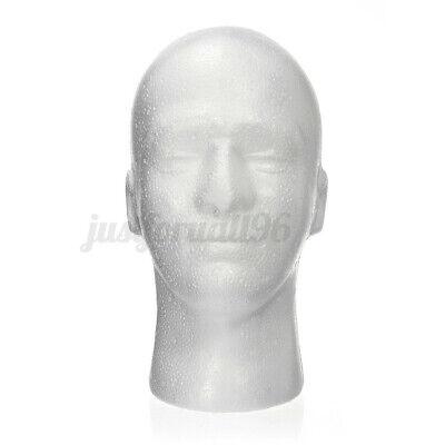 11 Male Styrofoam Foam Mannequin Manikin Head Wig Display Hat Glasses Usa