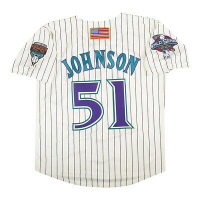 Randy Johnson 2001 Arizona Diamondbacks Alt Home World