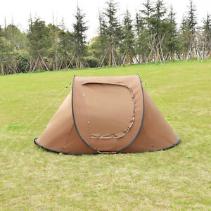 Waterproof 2-3 Person C&ing Tent Automatic Pop Up Quick Shelter Outdoor Hiking & Pop Up Camping Tent | eBay