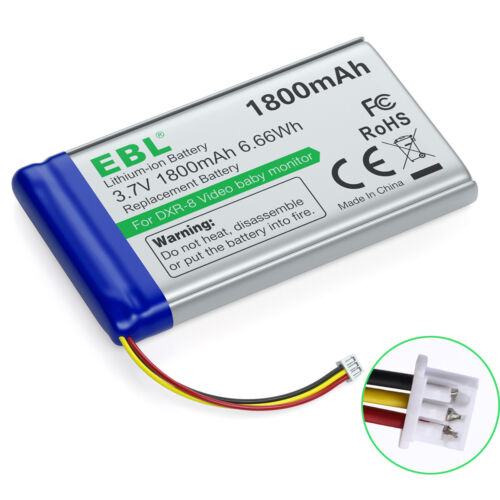 Sp803048 1800mAh Replacement Battery for Infant Optics DXR-8 Video Baby Monitors