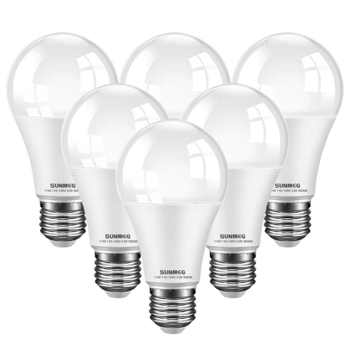 A19 LED Light Bulb, 100 Watt Equivalent , E26 LED Bulbs