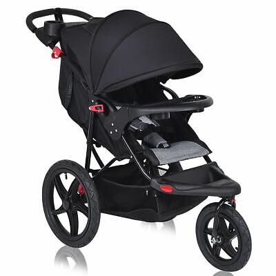 Foldable Lightweight Infant Baby Stroller Jogger All-terrain